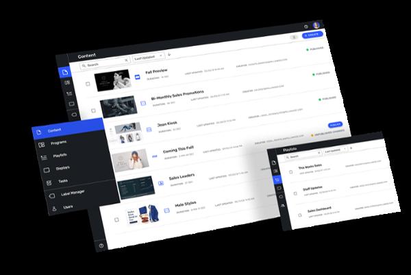 CUSTOMtronics Digital Signage Platform