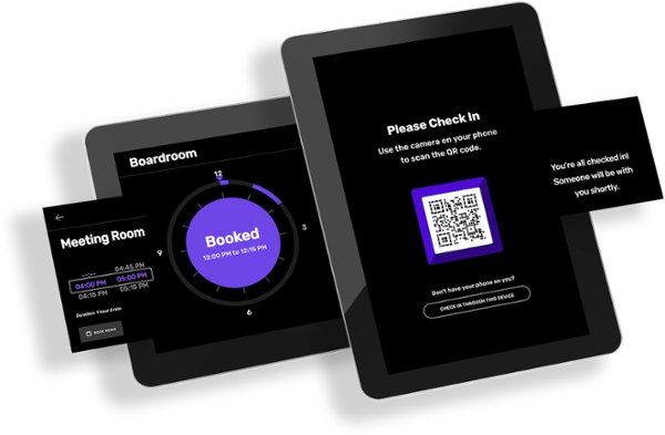 CUSTOMtronics Digital Signage Booking Management