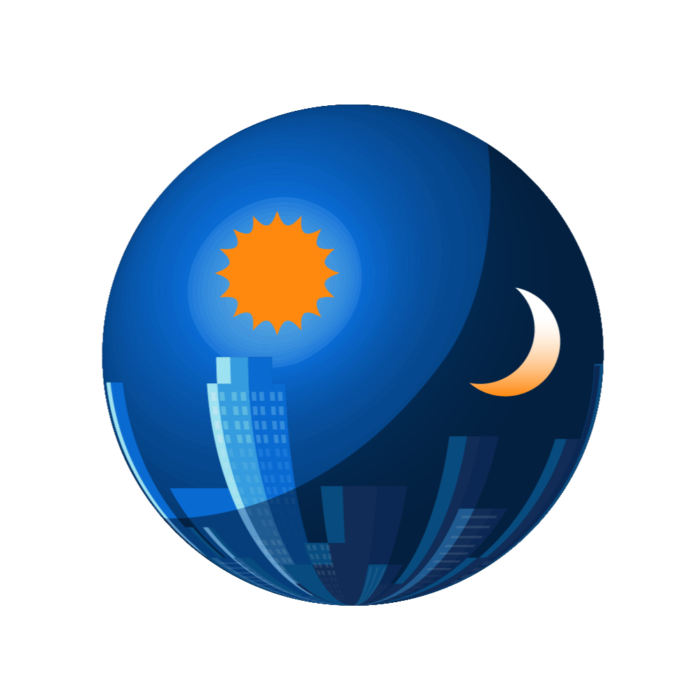 sun and moon Icon representing music dayparting